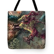 Spike Jester Tote Bag by Ryan Barger