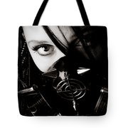 Spiked Mask Tote Bag