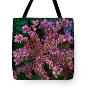 Spiky Flowers Tote Bag