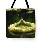 Spiky Lily Pad Tote Bag