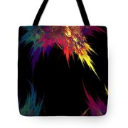 Spilled Paint Tote Bag