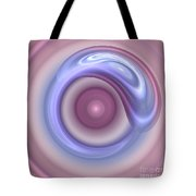 Spilled Silk Tote Bag