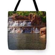 Spilling Over Waterfall Tote Bag