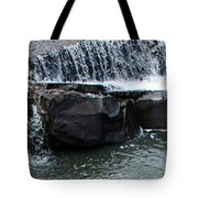 Spillway Pano Tote Bag
