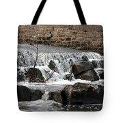 Spillway Waterfall Tote Bag