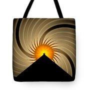 Spin Art Tote Bag