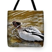 Spin Dry Duck Tote Bag