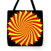 Spin Left On Black... Tote Bag