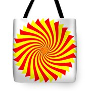 Spin Right On White Tote Bag