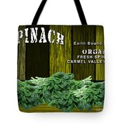 Spinach Patch Tote Bag