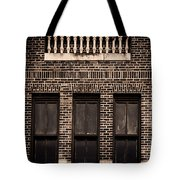Spindles And Bricks Tote Bag