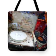 Spinnin The 45s Tote Bag