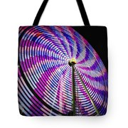 Spinning Disk Tote Bag by Joan Carroll