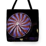 Spinning Ferris Wheel Tote Bag