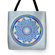 Spinning Flower Tote Bag