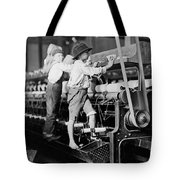 Spinning Frame Circa 1909 Tote Bag by Aged Pixel