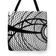 Spinning My Wheels Tote Bag