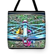Spinning Round Tote Bag