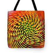 Spinning Watercolor  Tote Bag
