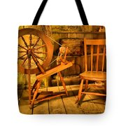 Spinning Wheel Tote Bag