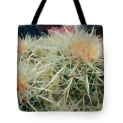 Spiny Barrel Cactus Tote Bag