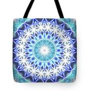Spiral Compassion K1 Tote Bag by Derek Gedney