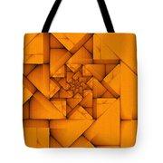 Spiral Form Tote Bag