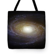 Spiral Galaxy M81 Tote Bag