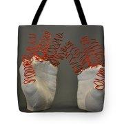 Spiral Hands Tote Bag