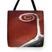 Spiral Jetty From The Air Tote Bag