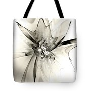 Spiral Mania 4 - Black And White Tote Bag