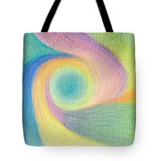 Spiral Of Life Tote Bag