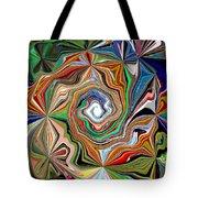 Spiral Splendor Tote Bag