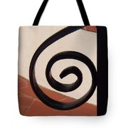 Spiral Stair Railing Tote Bag