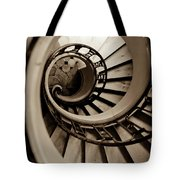 Spiral Staircase Tote Bag by Sebastian Musial