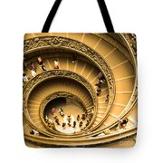 Spiral Staircase Tote Bag by Stefano Senise
