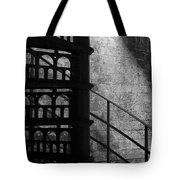 Spiral Stairs 1 - Mono Tote Bag