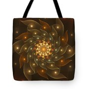 Spiral Wings Tote Bag
