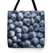 Spirals Blue Tote Bag