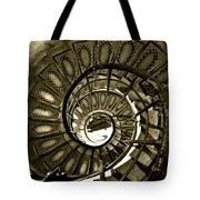 Spirals Down Tote Bag