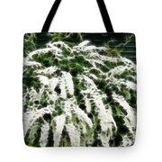 Spirea Expressive Brushstrokes Tote Bag