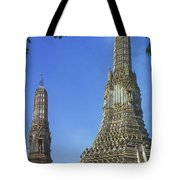 Spires Of The Temple Of Dawn Tote Bag