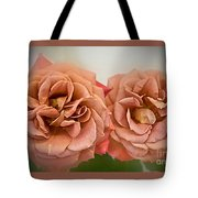 Spirit Dance Roses Art Prints Tote Bag