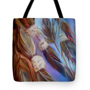 Spirit Feathers Tote Bag