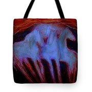 Spirit Horses Tote Bag by Johanna Elik