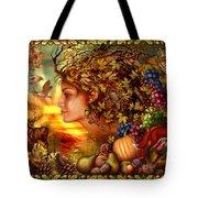Spirit Of Autumn Tote Bag