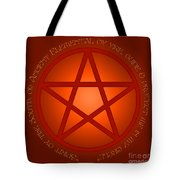 Spirit Of Fire Tote Bag