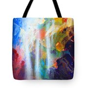 Spirit Of Life - Abstract 5 Tote Bag