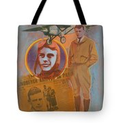 Lindbergh, Spirit Of St. Louis Tote Bag
