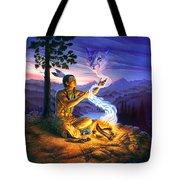 Spirit Of The Cougar Tote Bag
